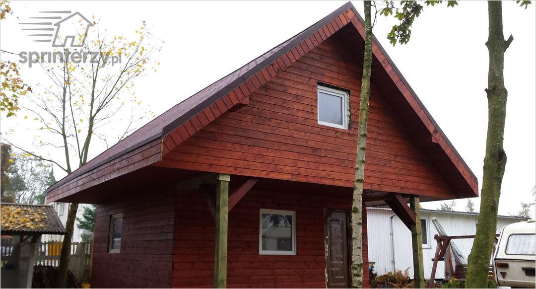 Zalety domów z drewna